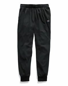 Champion-Sweatpants-Men-039-s-Jersey-Joggers-Side-Pockets-Comfortable-Athletic-Fit
