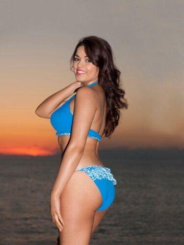 Bikini Short or Tie Brief Curvy Kate Coral Reef Halter Top Padded Bikini Top