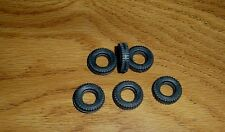 6 REPLACEMENT TIRES FOR DINKY#  980 - Coles Hydra Truck 150T