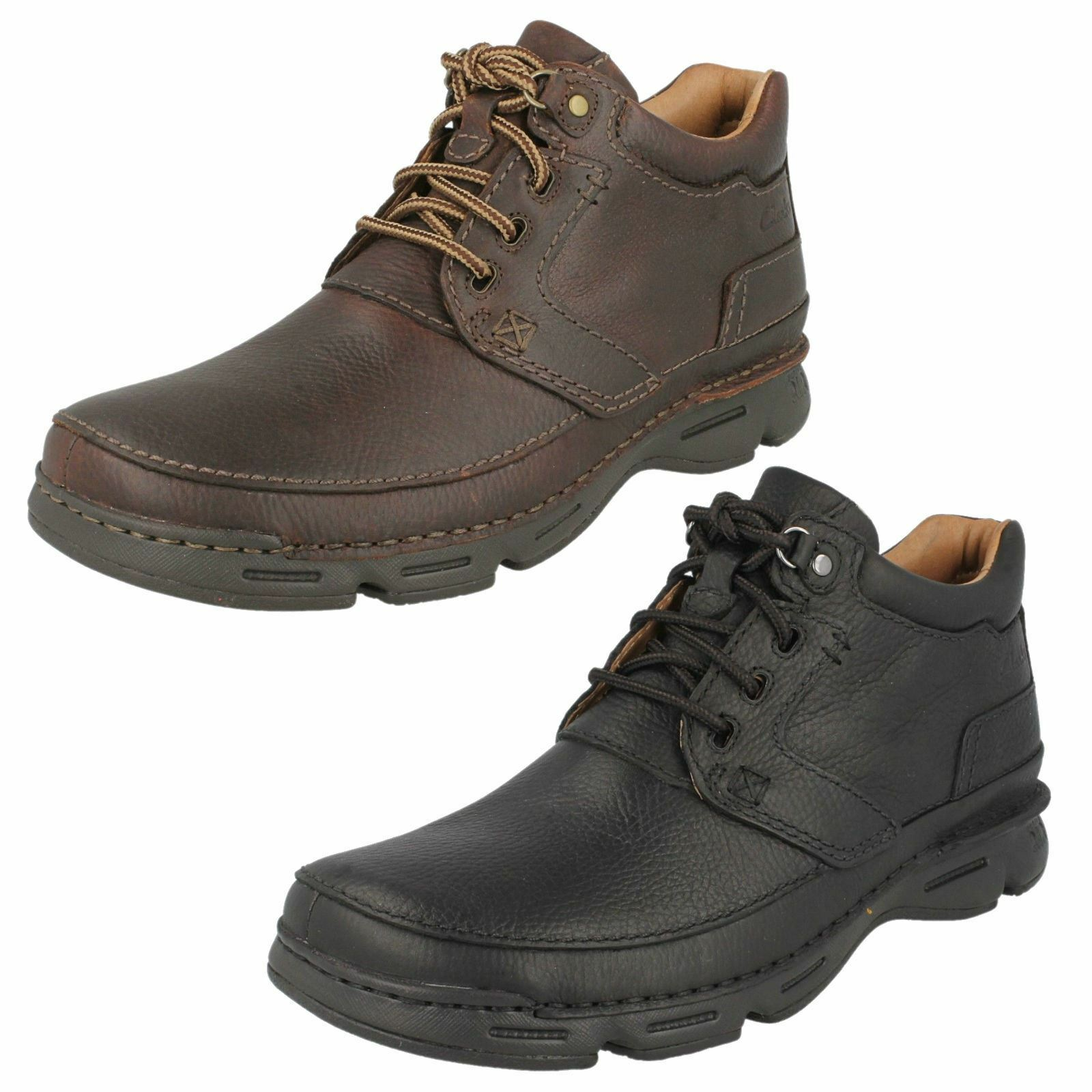 Men's Clarks Casual Ankle Boots -  Rico Rise