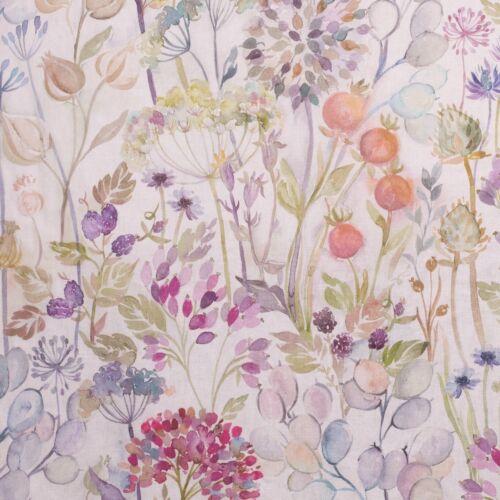 Voyage Maison Hedgerow Linen Fabric Per Meter Curtains 53/% Linen 47/% cotton