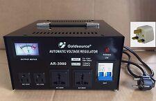 VOLTAGE CONVERTER TRANSFORMER STEP UP/DOWN 3000W REGULATOR 230 TO 110V &110-230V