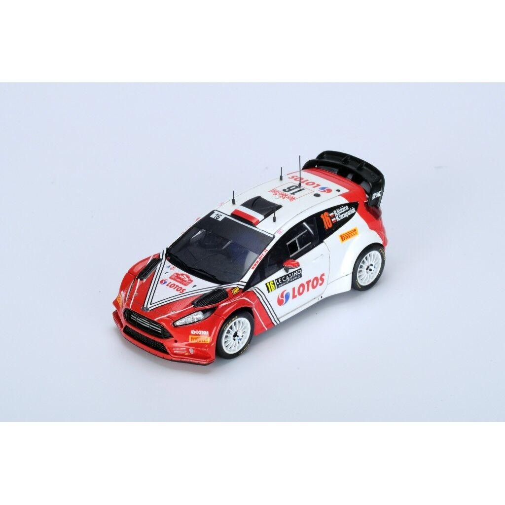 1 43 FORD FIESTA RS WRC LOTOS Rtuttiye Monte autolo 2016 R. Kubica