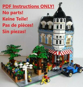 Park-Cafe-Lego-building-instruction-only-10182-10185-10190-10197-10211-10218