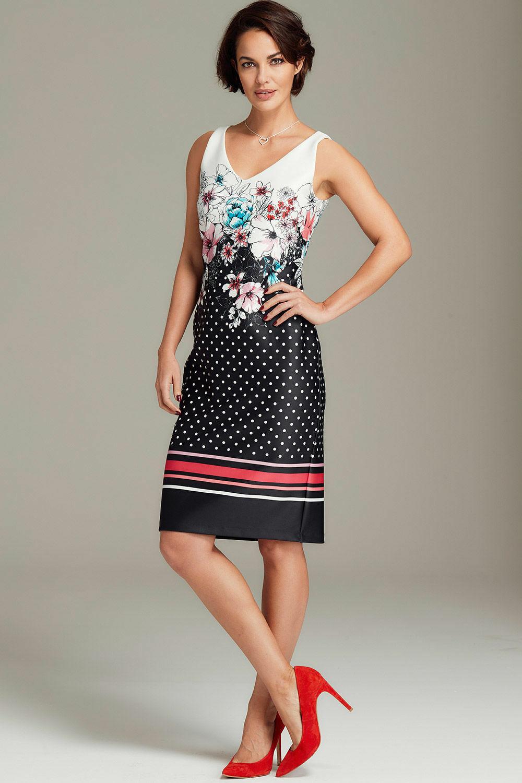 28d040a391 Floral Shift Dress - Size UK20