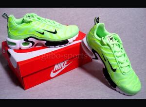 Details zu Nike Air Max Plus Premium Lime Blast Black Größe 44 neon gelb grün 815994 300