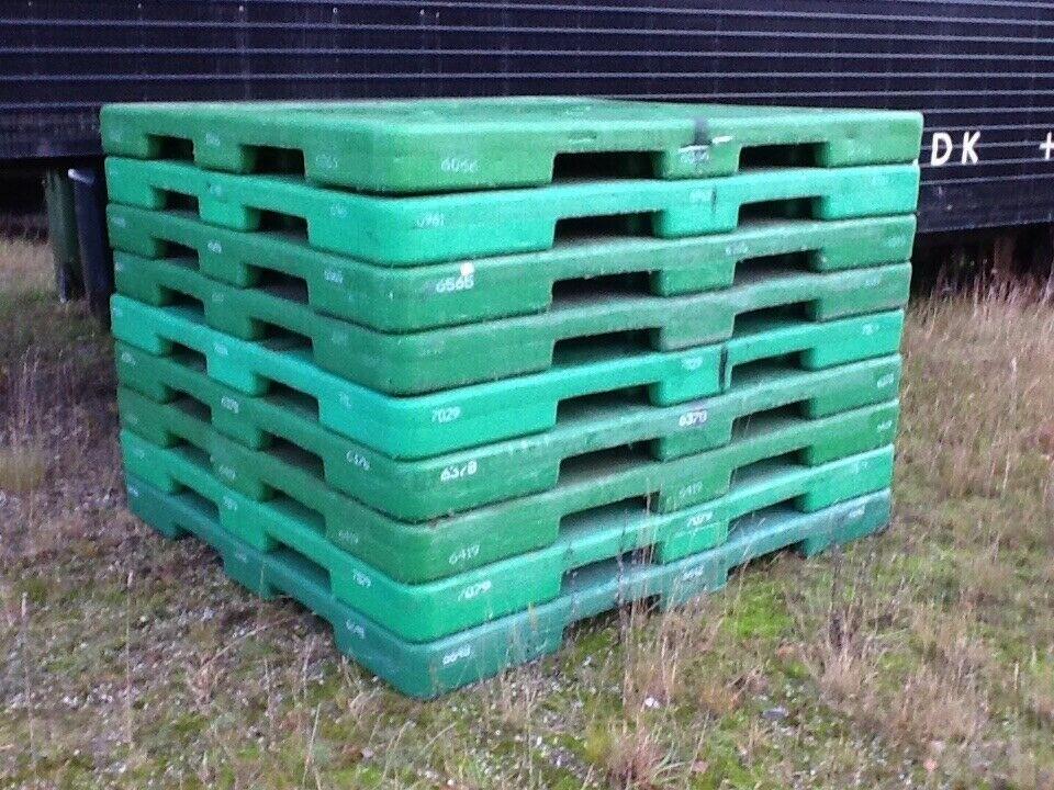 Plastpaller 200 x 215 x 17 cm - pris pr. stk