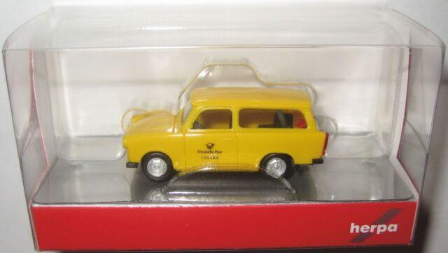 "Herpa 093095 H0 1:87 Trabant 601 Universal /""Deutsche Post/"" NEU in OVP"