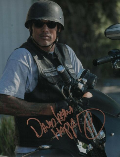 Sons of Anarchy David Labrava Signed Autographed 8x10 Photo COA
