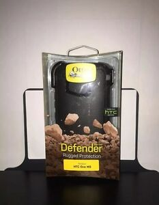 NEW-Authentic-Otterbox-Defender-Series-Case-with-Belt-Clip-for-HTC-One-M9-Black
