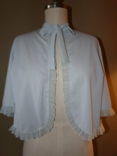 Sweetest VINTAGE 50's VANITY FAIR BED JACKET Baby