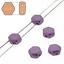 Dos agujeros nido de abeja de Cuentas de Vidrio Perlas filamento de 30 Elige Tu Color