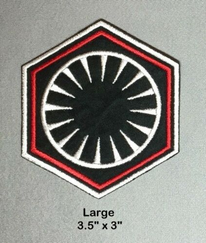 Star Wars First Order Officer Uniform Patch Force Awakens Hux Costume Cosplay