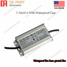 Constant Current LED Driver 100W Lamp Light Bulb Waterproof Power Supply USA