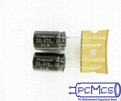 15 Pcs Rubycon ZLH series 63V 47UF Long Life Low impedance Japan Made Capacitor