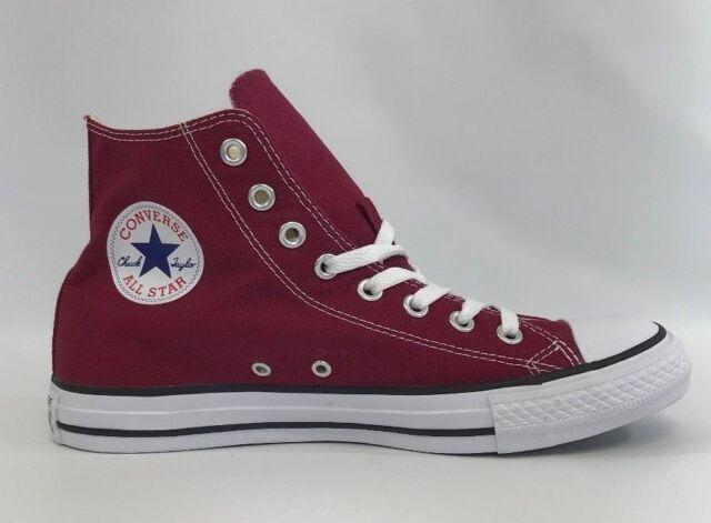 Kauf Converse All Star Canvas Hi Maroon Lila Schuhe Online