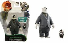 DISNEY ZOOTROPOLIS ZOOTOPIA BLISTER 2 PACK TOMY MISTER MR. BIG AND KEVIN