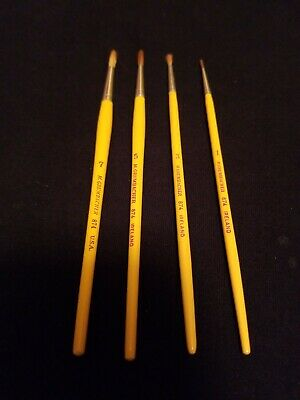 New Grumbacher Round 874 Size 8 Sabeline Artist Paint Brush