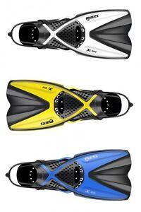 Mares-X-One-Palmes-Tuba-Kurzflossen-Gr-35-Jusqu-039-A-47-Differents-Couleurs-Fins