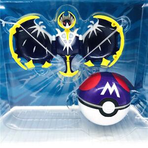 Pokemon Action Figure Deformation Doll Lunala Poké Ball Child Gift Toy New Kids