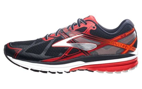 Ravenna Brooks Running Road 062 Track Red Men's 1d Slvr Shoes Black New 110217 7 BCWdxoer