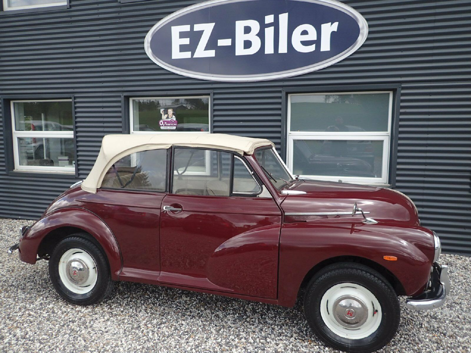 Morris Minor 1000 Cabriolet 2d