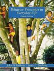 Behaviour Principles in Everyday Life by John David Baldwin, Janice I. Baldwin (Paperback, 2000)