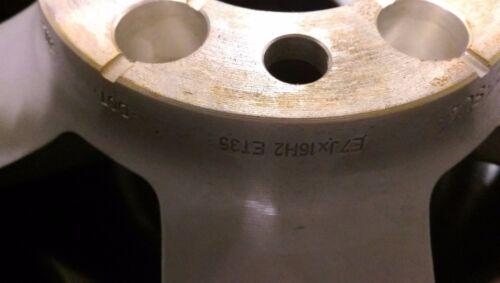 1x original audi a4 8w0601025 alufelge 7x16 et35 llanta de rueda de repuesto demo