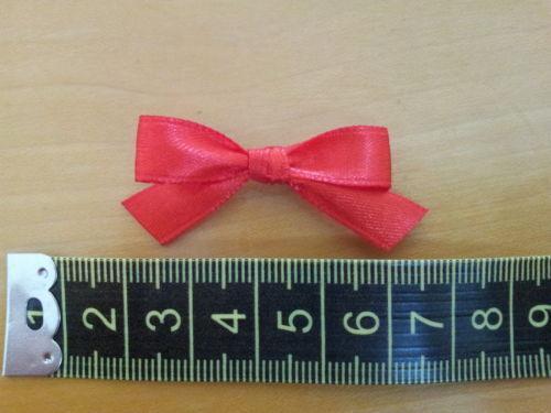 various colours available 20 Satin ribbon hand tied bows 10mm ribbon
