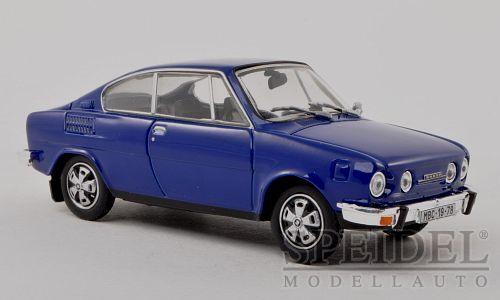 a la venta Maravilloso modelCoche modelCoche modelCoche Skoda 110 R Coupe 1970-Azul-Escala 1 43  promociones