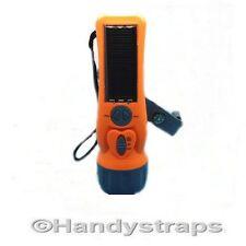 Solar Powered Flashlight/Torch FM Radio LY-SD5020