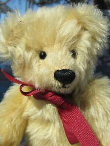 VINTAGE-TEDDY-BEAR-MILL-CREEK-CREATION-ORIGINAL-9-034-SUN-YELLOW-MOHAIR-ARTIST-OOAK