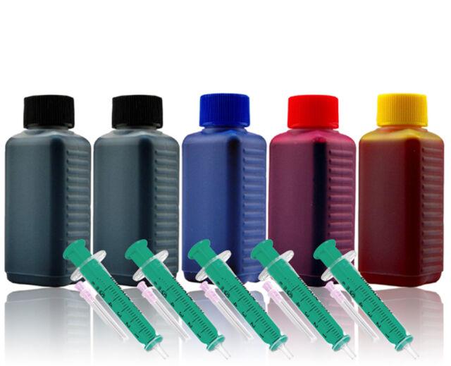 Refill Tinte für Canon PIXMA iP3300 4200 4300 5200 5300 MX850 MX884 MX885