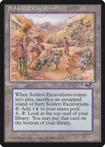Soldevi Excavations Alliances HEAVILY PLD Land Rare MAGIC MTG CARD ABUGames