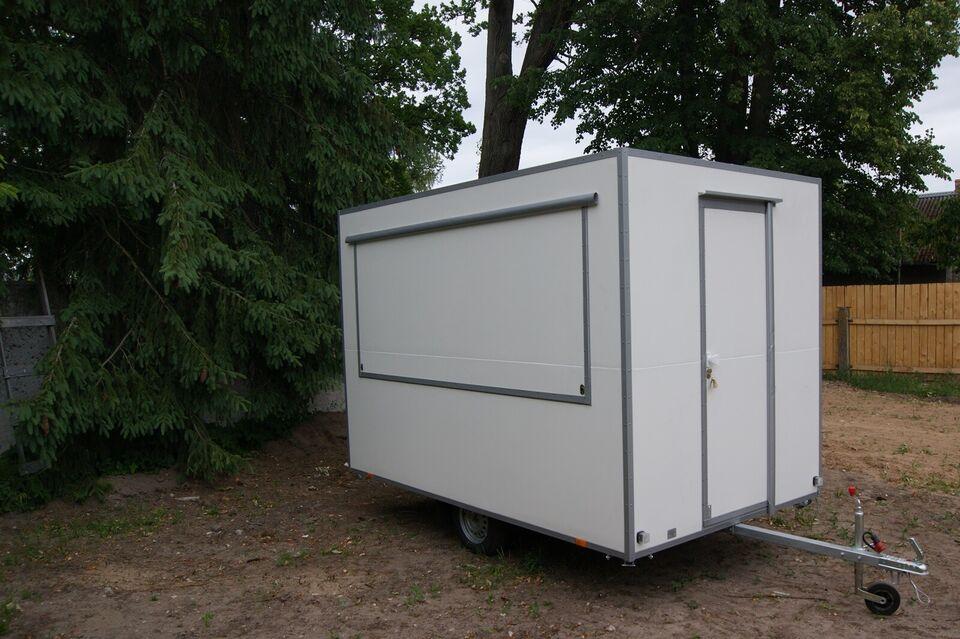 Pølsevogn, PASIZGATAVOTA FOOD 3m, lastevne (kg): 210