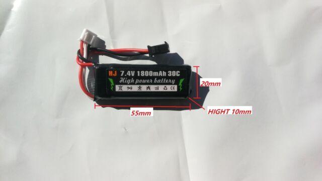 AU Store 7.4V 2S Li-Po Battery for M1911 STD CS-009 Gel Ball Blaster