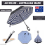 Upside-Down-Windproof-Inverted-Reverse-C-Handle-Folding-Umbrella-With-Carry-Bag thumbnail 4