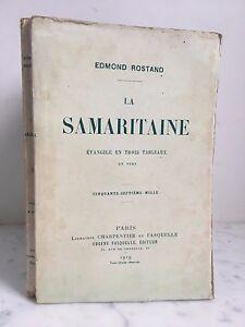 Edmond-Rostand-La-Samaritano-Libreria-Carpintero-Y-Fasquelle-1920