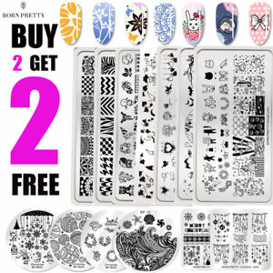 BORN-PRETTY-Spring-Summer-Nail-Art-Stamping-Plates-Image-Stamp-Templates-Tool