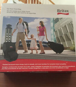 Image Is Loading Britax Car Seat Travel Bag Black New Open