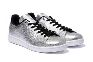 adidas stans smith silver