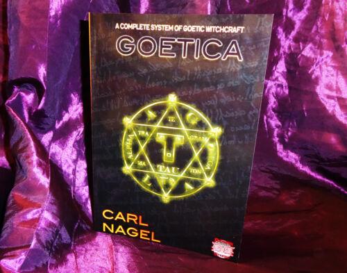 Goetica Carl Nagel finbarr occulto ARS Goetia Nero Grimoire goetic Magick wicca