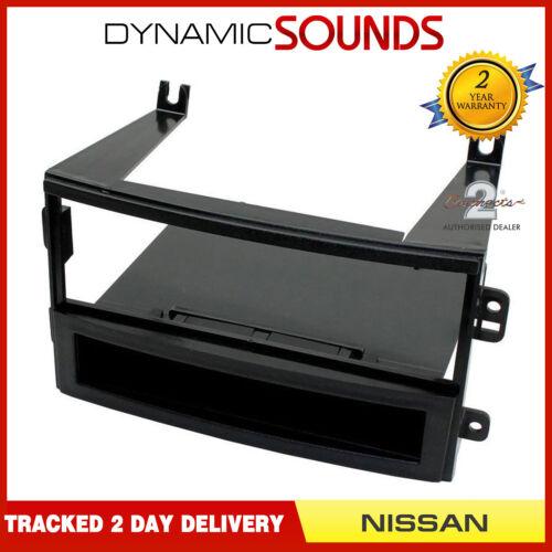 CT24NS04 Black singolo DIN Fascia Adattatore Pannello Per Nissan 350z 2003 a 2005