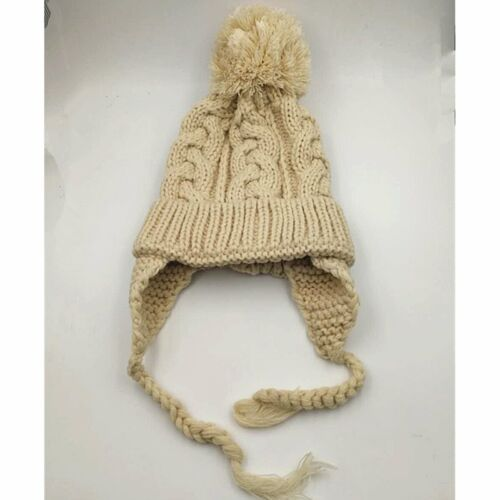 Cute Toddler Kids Girl/&Boy Baby Winter Warm Crochet Knit Hat Earmuffs Beanie Cap