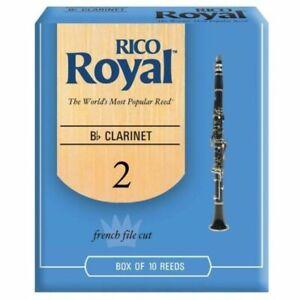 Rico RCB1020 BB Clarinet Reeds - 10 Pack