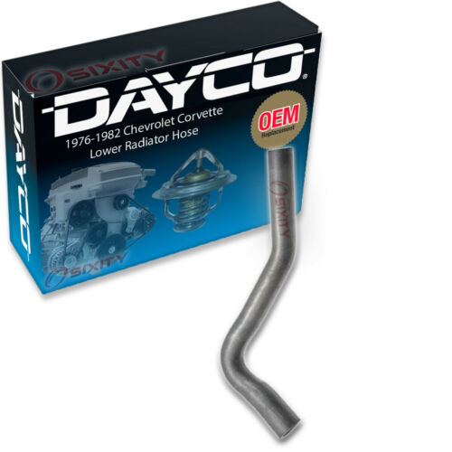 Dayco Lower Radiator Coolant Hose for 1976-1982 Chevrolet Corvette 5.0L 5.7L uy