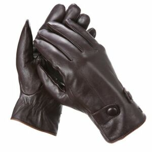 d8996a0df3ab6 Marino Men's Warm Fashion Leather Gloves Extreme Cold Weather ...