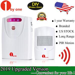Home-Security-Wireless-Driveway-Alarm-Doorbell-Garage-Motion-Sensor-Detector-New