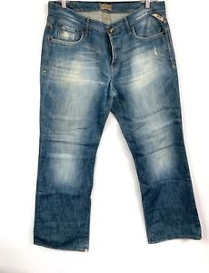 new product 39dda e0e17 Details about Jack Jones vintage denim men's jeans Gate Style Made In Italy  38x34 Distressed