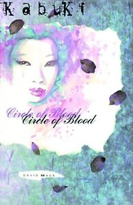 Kabuki-Circle-of-Blood-David-Mack-graphic-Novel-Soft-Cover-New-amp-Unread-Image